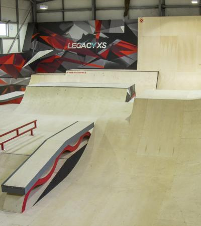 Ramps at Legacy XS Centre in South Benfleet