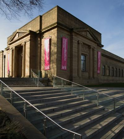 Outside view of Weston Park Museum in Sheffield