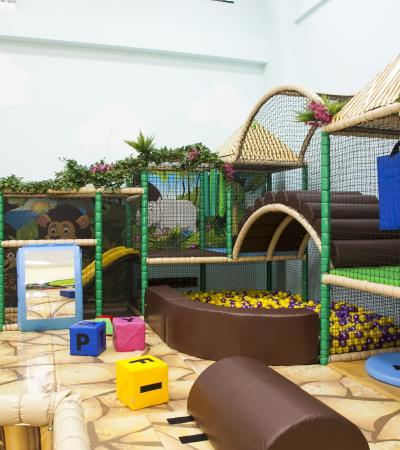 The toddler play area at Roar and Explore