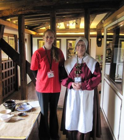 Staff at John Bunyan Museum in Bedford