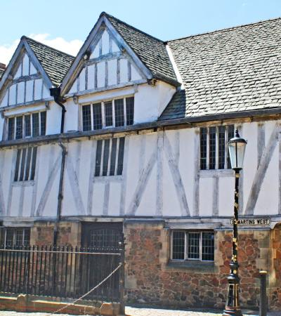 Leicester's historic Guildhall on Curious About Leicester trail