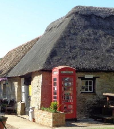 Tea room at Ramsey Rural Museum