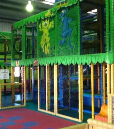 Indoor soft play frame at Monsters Ltd Indoor Play Centre in Diss