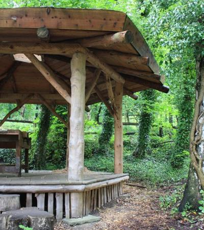 Pavilion at Ecclesall Woods in Sheffield