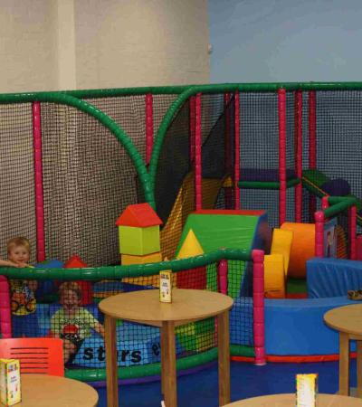 Toddler soft play area at Dizzy Rascals Indoor Play Centre in Poynton