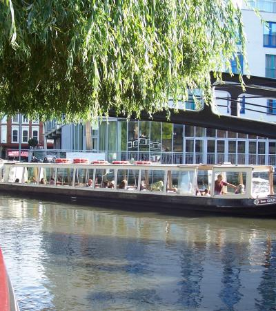 Boat sailing from London Waterbus Canal Trips in Maida Vale