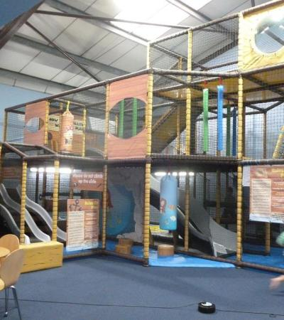 Indoor soft play frame at Little Urchins Softplay in Warminster