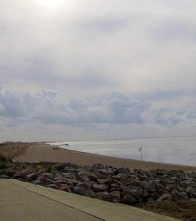 A view of Heacham Sands, Heacham