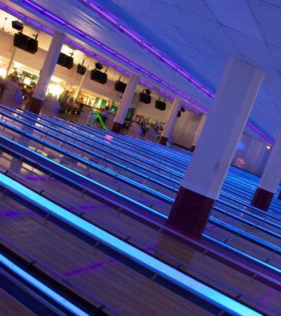 Bowling alleys at Rollerbowl Romford