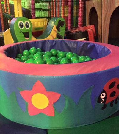 Ball pit at Antz in your Pantz in Timperley