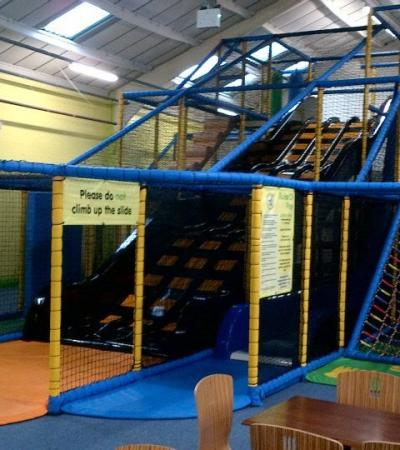 Indoor soft play frame at Bumble Beez in Ramsgate