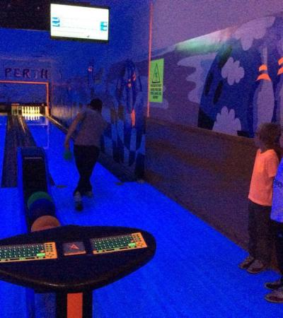 Family bowling at Noahs Ark Perth