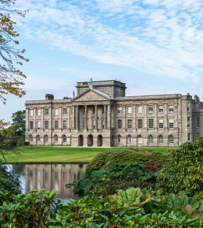 Outside view of Lyme Park in Disley
