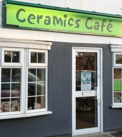 Outside view of Ceramic Cafe in Hersham
