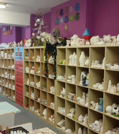 Crafts at Paint Me Ceramics in Hunstanton