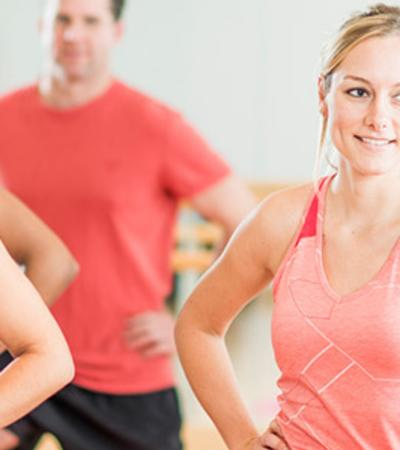 Aerobics class at Kingfisher Leisure Centre Sudbury
