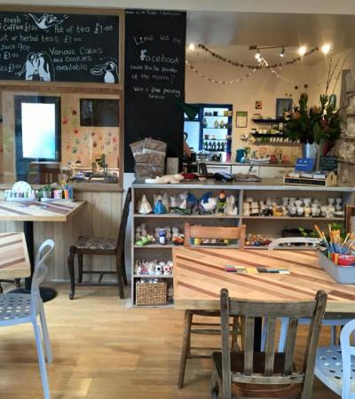 Ceramic Cafe at Planet Pot in Sheffield