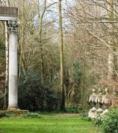 Monument at The Gibberd Garden in Harlow