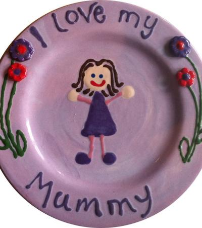 Mother's Day craft at The Pottery Project in Berkhamsted