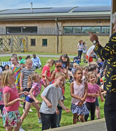 Entertainment for kids at Puxton Park in Weston Super Mare
