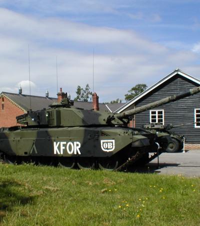 Military tank at Aldershot Military Museum