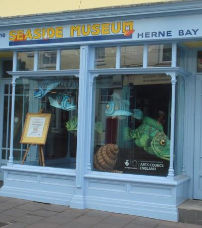 Entrance to Herne Bay Museum and Gallery