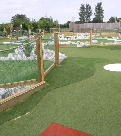 Golf course at Mini Meadows Golf in Battlesbridge