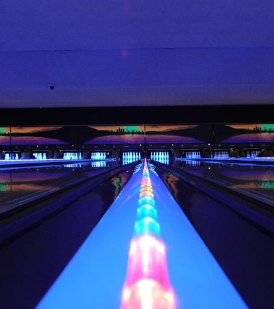 Bowling alleys at Chesterfield Bowl