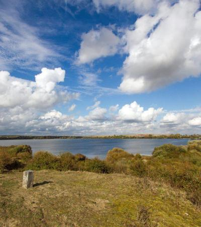 Lake at Marston Vale Forest Centre in Marston Moretaine