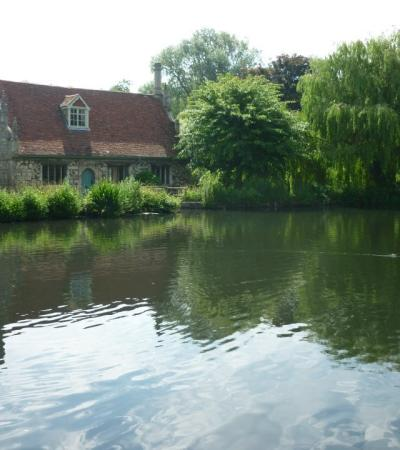 Outside view of Bourne Mill in Colchester