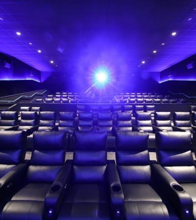 Cinema screen at Showcase Cinema
