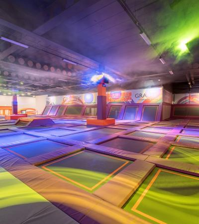 Trampolines at Gravity Trampoline Park Norwich