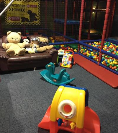 Toddler play area at Hulabaloos in Sutton