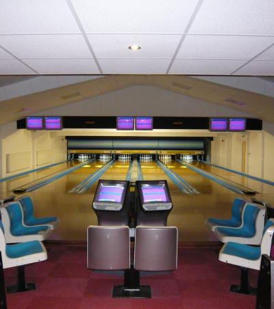 Bowling alleys at Ancaster Leisure in Grantham