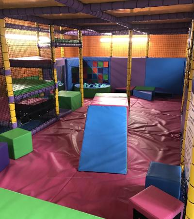 Toddler soft play area at Bubbles Active Play in Hinckley