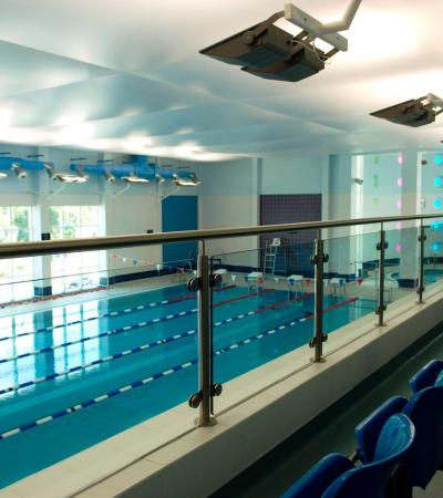 Swimming pool at Ashford Leisure Trust