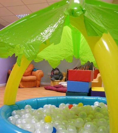 Ball pit at Coral Cove Party and Adventure Centre in Devizes