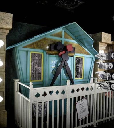 The Alice in Puzzleland escape room at Escape Hunt Resorts World in Birmingham