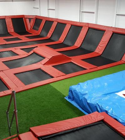 Trampolines at Boing Zone Cannock