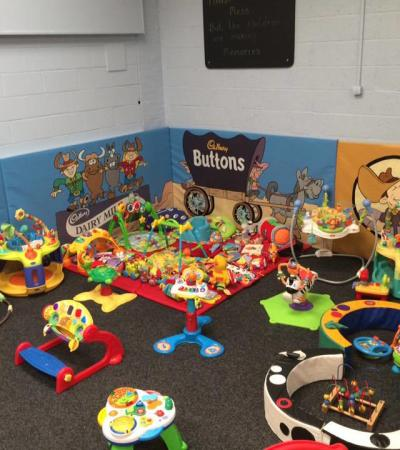 Play area at Lanky Bill's Fun Shack in Langley Mill