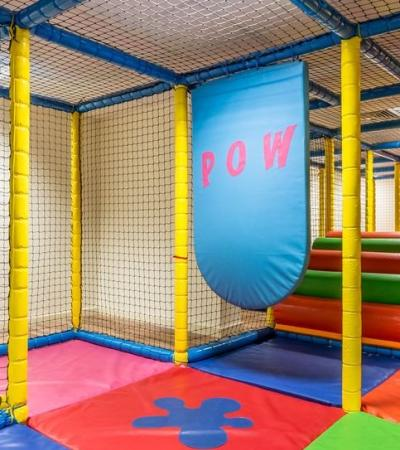 Soft play frame at Adventureland and Youth Gym in Redhill