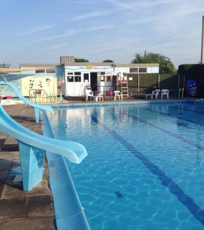 Outdoor swimming pool at Billinghay Swimming Pool in Lincoln