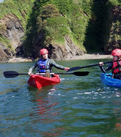 People kayaking at The Outdoor Shop and Kayak Hire in Ilfracombe