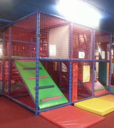 Indoor soft play frame at Kidz Krazy House Limited in Sheffield