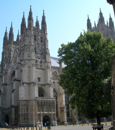 Cathedral in Canterbury on huntfun Canterbury trail