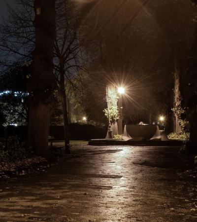 Trail at Canterbury Ghost Tour
