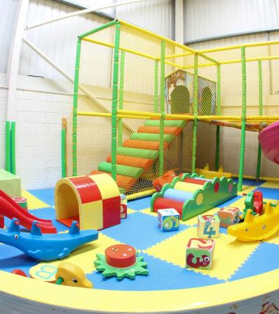 The toddlers soft play area at Bridge Community Centre