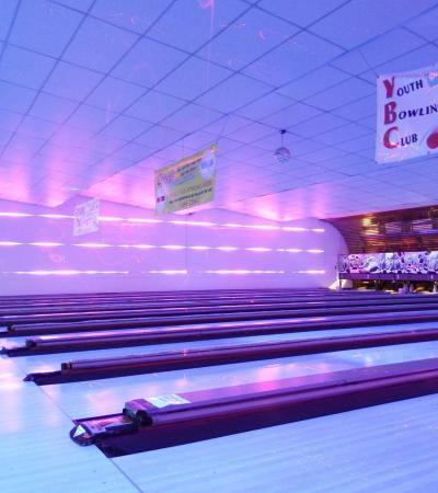 Bowling alleys at Bugsys in Cliftonville