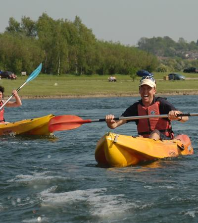 Rother Valley Country Park Canoes