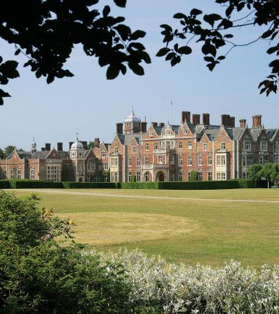 Outside view of Sandringham country houses